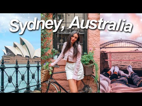 A WEEK IN MY LIFE IN SYDNEY, AUSTRALIA! | VLOG (Circular Quay, Harbour Bridge, Sydney Opera House)