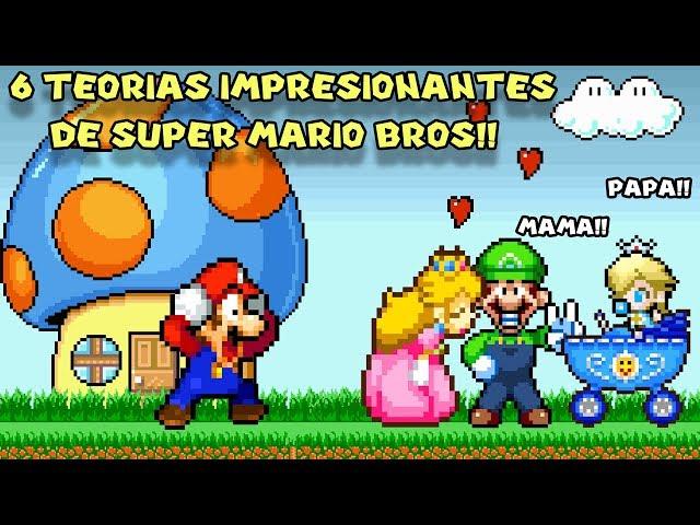 6 Teorías Impresionantes de Mario que te Dejarán Boquiabierto - Pepe el Mago