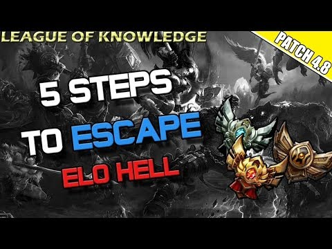 ✔ HOW TO WIN -  5 TIPS TO ESCAPING ELO HELL AND WINNING GAMES | League of Legends | Season 4