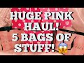 HUGE VICTORIA'S SECRET PINK HAUL | Clothing, Beauty, Bras, PCC, etc haul