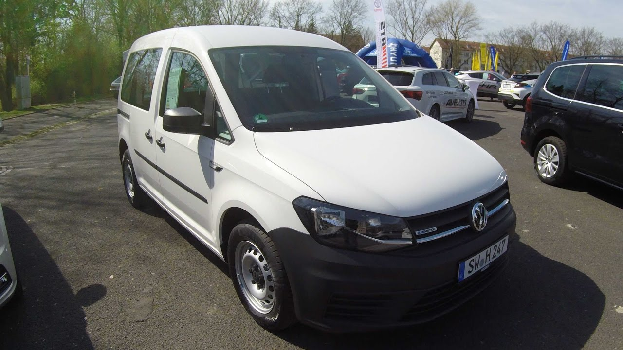 VOLKSWAGEN VW CADDY TRANSPORTER ! CANDY WHITE COLOUR ! WALKAROUND + ...