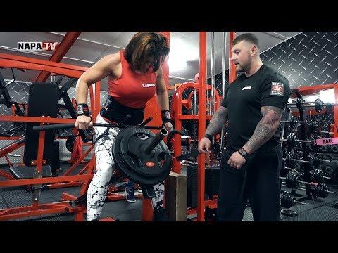 Mum & Son Bodybuilders | Training Back