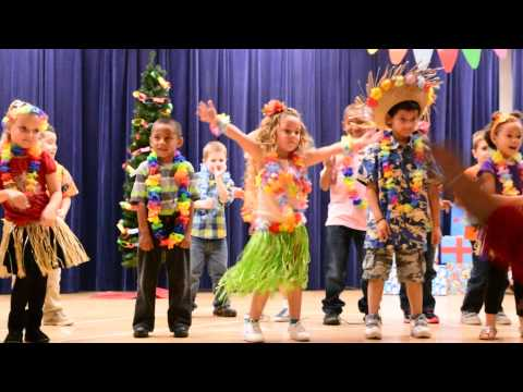 Mele Kalikimaka Christmas Program at School Kindergaten