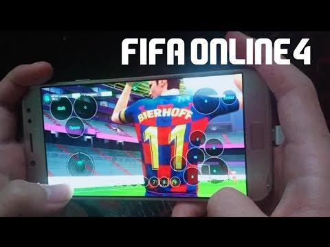 Cách chơi fifa online 4 trên ứng dụng netboom
