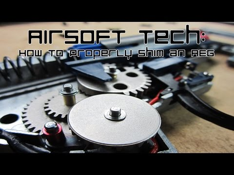Airsoft Tech: How to Properly Shim an AEG (Bevel-Pinion)