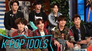 "The K-pop superstars were on ""The Ellen DeGeneres Show"" on Friday, ..."