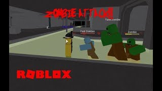 Oh, merde.. (Roblox Zombie Attack)