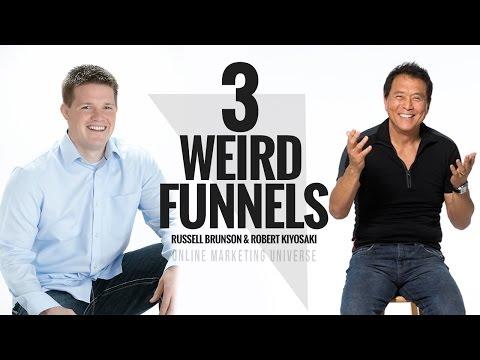 Russell Brunson & Robert Kiyosaki - 3 Weird Funnels