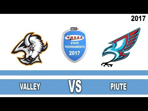 1A Baseball: Valley vs Piute High School UHSAA 2017 State Tournament Semifinals