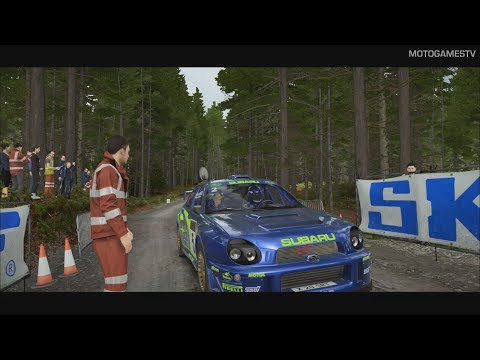 DiRT 4 [XOne] - 2001 Subaru Impreza at Rally Wales [Gameplay & Replay]