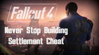 Fallout 4 Exploit: Removing Size Limit When Building!