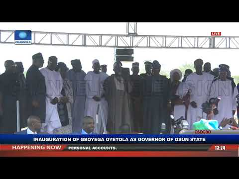 Gboyega Oyetola Sworn In, Takes Over As Osun State Governor Pt.3 |Live Event|