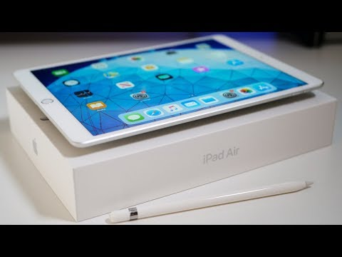 New IPad Air 2019 - Unboxing And Overview