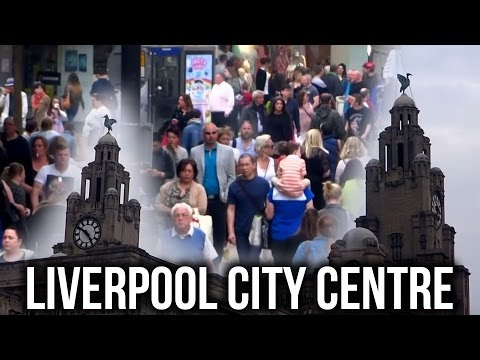 The UK Today - Walking Through Liverpool City Centre. May 2016