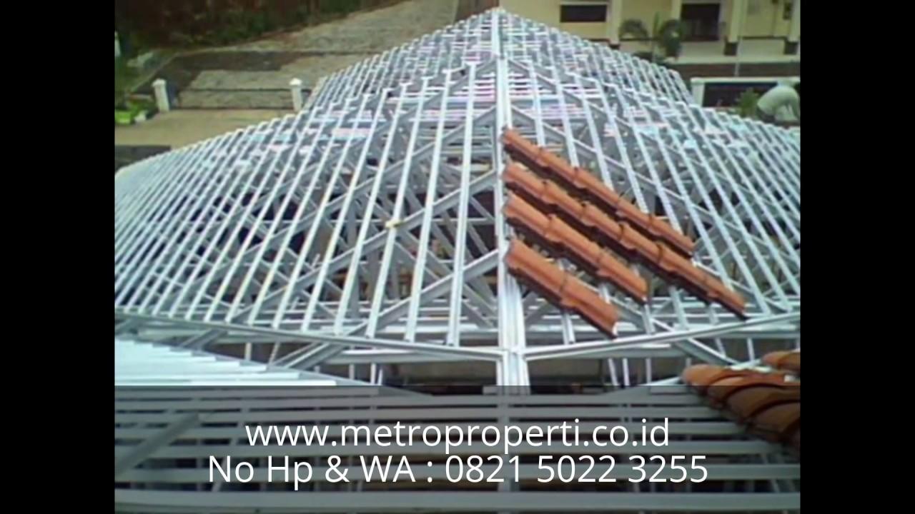 pemasangan atap baja ringan balikpapan jasa pasang rangka no hp wa 0821