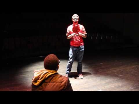 "Kamahri: Narrative Poem Exhibition Performance: ""Clooney the Clown,"" by Shel Silverstien"