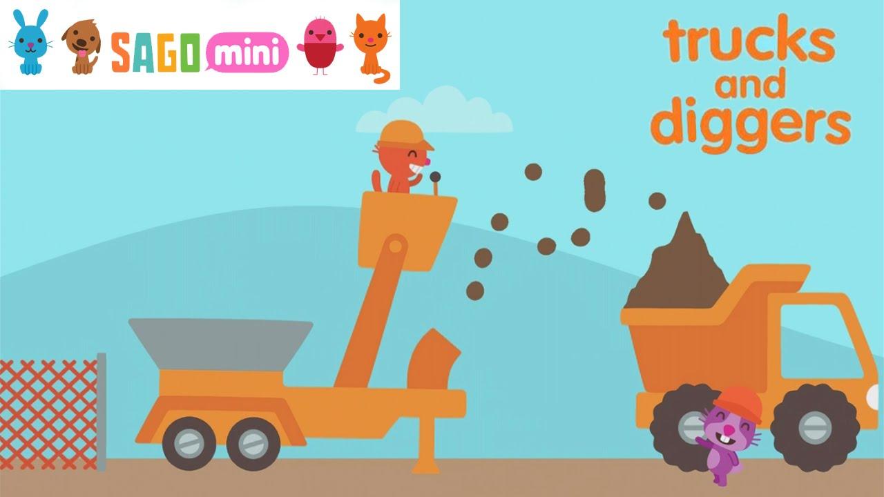 Sago Mini Trucks and Diggers (By Sago Sago) - iOS ...