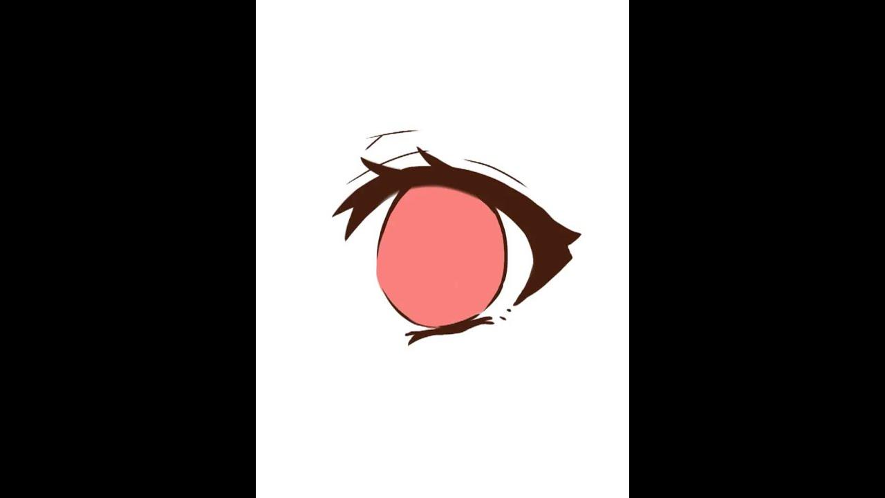 目の書き方! - youtube