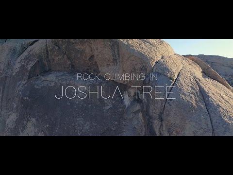 Rock Climbing In Joshua Tree, CA