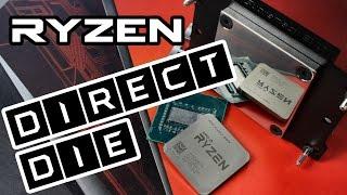 AMD Ryzen Direct Die Kühlung - Bringt es etwas Ryzen zu köpfen?