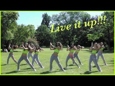 Jennifer Lopez - Live It Up ft. Pitbull- Zumba