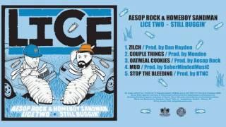 Aesop Rock Homeboy Sandman Lice 2 Still Buggin Official Audio