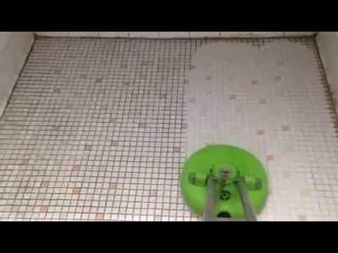 Old Bathroom Tile Cleaning YouTube