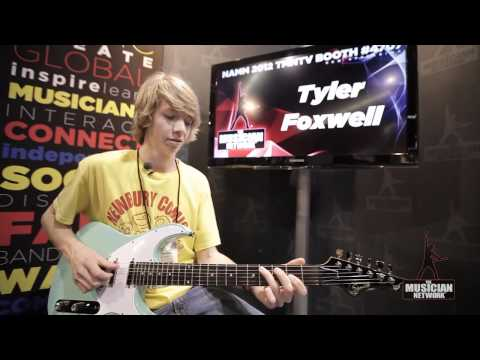 Tyler Foxwell: NAMM 2012 Interview & Performance