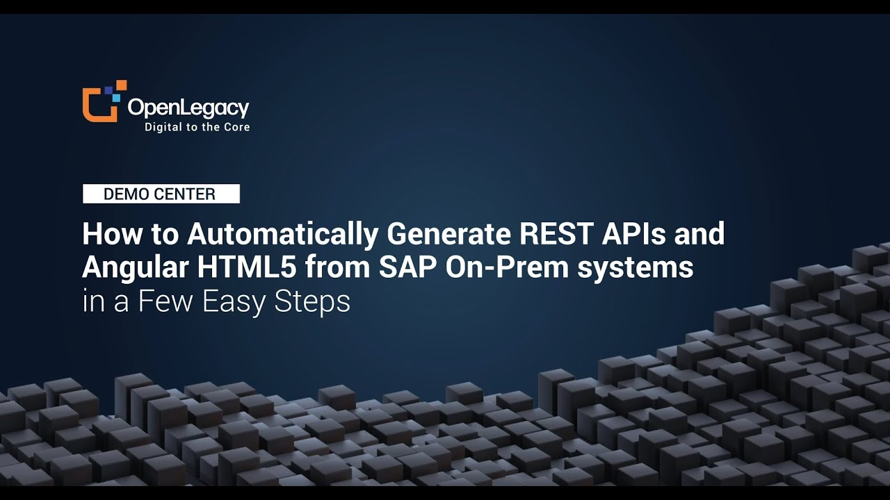 Download How to Automatically Generate REST APIs & Angular HTML5 from SAP  - In a few Easy Steps.