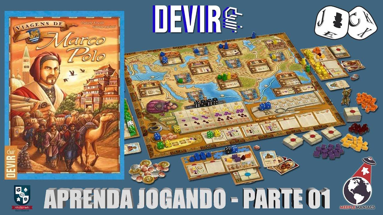 Jack Explicador - As Viagens de Marco Polo - Aprenda Jogando 01
