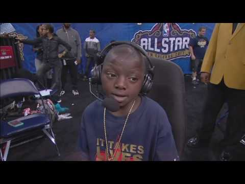62741e1880a Master P Brings 14-Year-Old Jarrius Robertson Into 2017 NBA Celebrity All-Star  Game to Score Perfect Shot - XXL