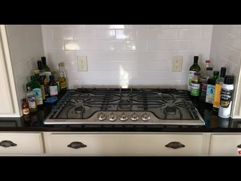 Install Gas Cooktop Properly Safely