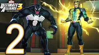 MARVEL Ultimate Alliance 3 Switch Walkthrough - Part 2 - The Raft