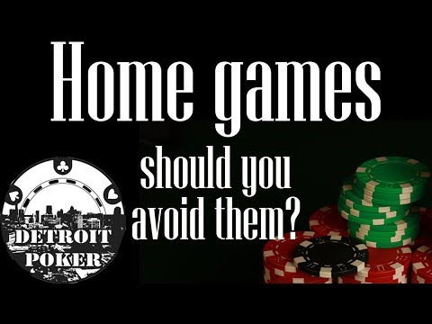 Poker Homegames, And Why You Should Avoid Them! Detroit Poker 1/2 And 2/5 VLOG #50