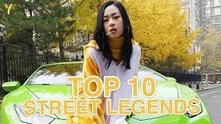 Top 10 Street Legends of China | Lamborghini Girls, Scooter Boys, Raving Grandmas & More!