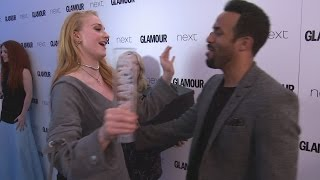 HILARIOUS! GOT's Sophie Turner meets all-time idol Craig David!