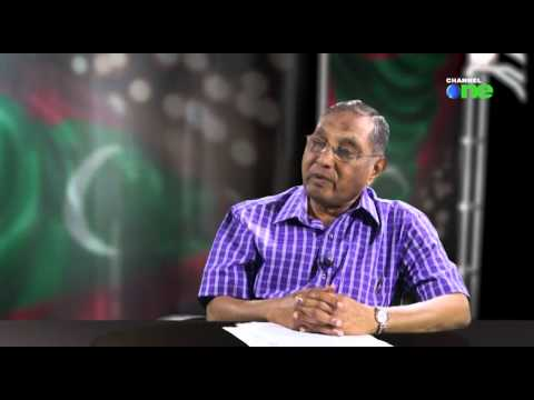 Jumhooree Dhuvahu  Abbas Ibrahim Channel one gai.  11. 11. 2014 Part 1