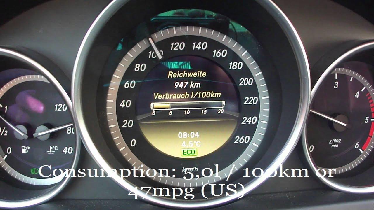 Mercedes C Cdi Fuel Consumption