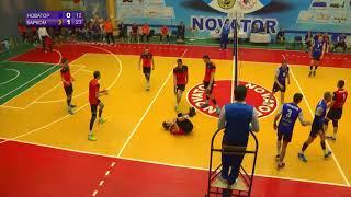 Highlights матчу Новатор - Барком-Кажани