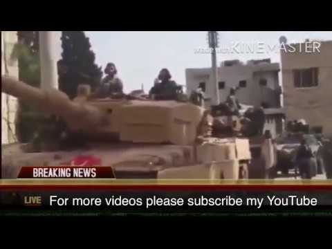 Turkish army take control on afrin city in Syria