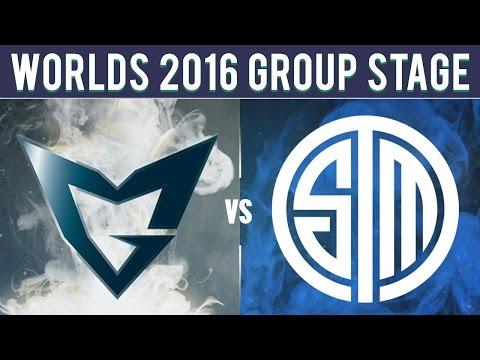 SSG vs TSM - Worlds 2016 Group D - Samsung Galaxy vs Team SoloMid