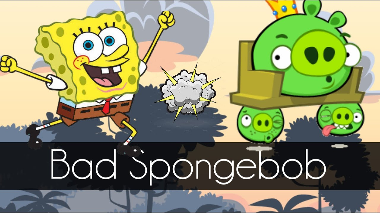 bad piggies bad spongebob mini bad piggies games youtube. Black Bedroom Furniture Sets. Home Design Ideas