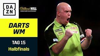 Smith vs. Aspinall, MvG vs. Anderson: Wer löst das Final-Ticket? | Darts WM | Halbfinals
