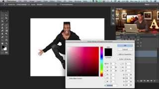 How to cut someone out of a backdrop in photoshop