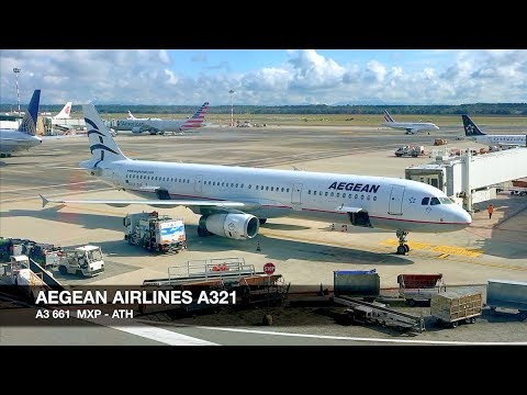 TRIP REPORT | Aegean Airlines A321 | Milan MXP ✈ Athens | Economy Class