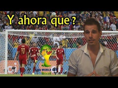 ESPAÑA ELIMINADA , Y ahora qué? | Vlog Mundial 2014 by SergioLiveHD