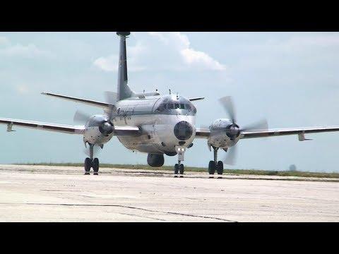 Landung Breguet Atlantic 61+06 in Nobitz 2008