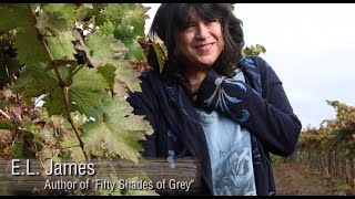 Fifty Shades of Grey Wine Blending Session with E L James www.fiftyshadeswine.com