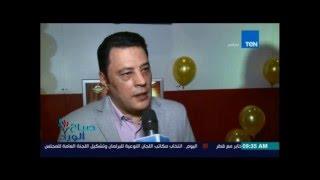 """لقاء مع ابطال فيلم """"فص ملح و داخ """"بطولة هبة مجدى و عمرو عبد الجليل"""