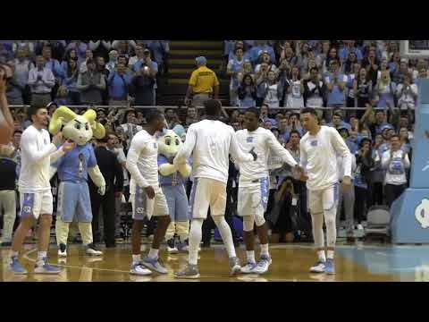 ICTV: UNC Senior Night Pregame Ceremony